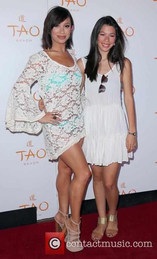 Cheryl Burke and Nicole Burke 7