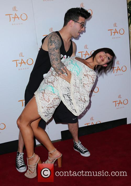 Cheryl Burke celebrates her birthday at TAO Beach...