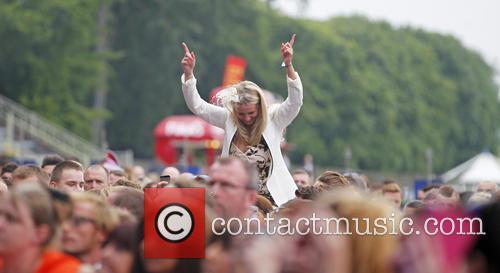 James Arthur performs at 'Summer Saturday Live' at...