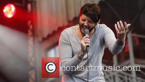 James Arthur performs at 'Summer Saturday Live' at...