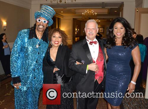 Bootsy Collins, Roberta Flack, Robert Sataloff and Denyce Graves