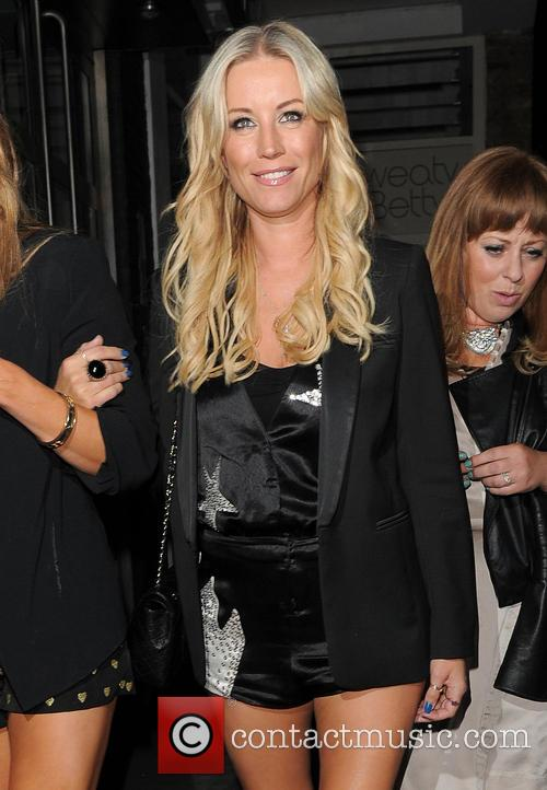 Celebrities attend Denise Van Outen's birthday celebrations