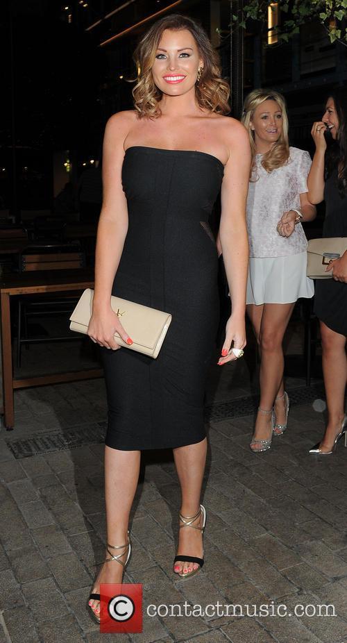 Celebrities attend Denise Van Outen's birthday celebrations