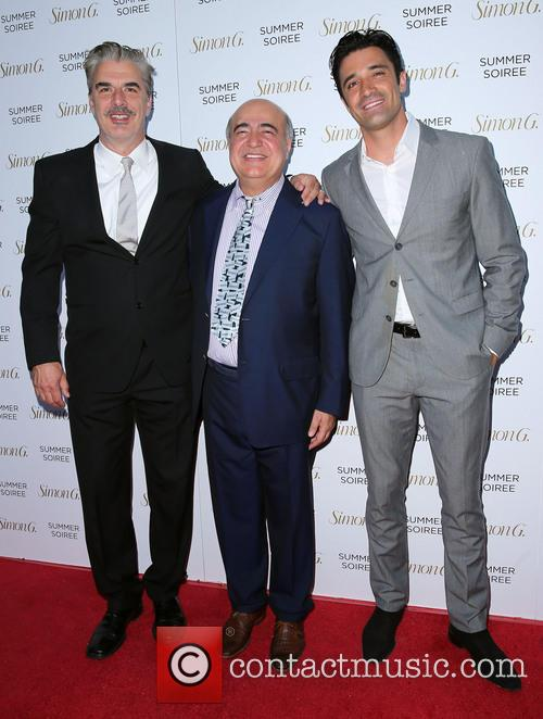 Chris Noth, Simon G and Gilles Marini 2