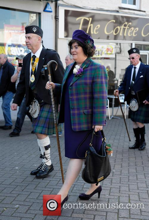 Susan Boyle is Chieftain of West Lothian Highland...