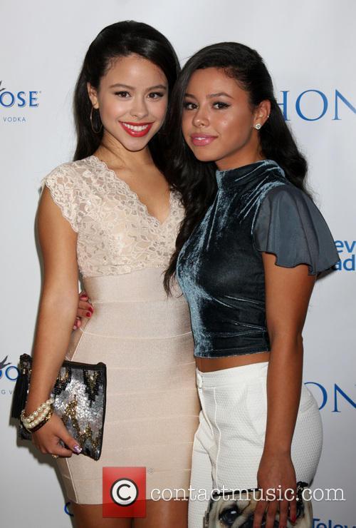 Cierra Ramirez and Savannah Ramirez