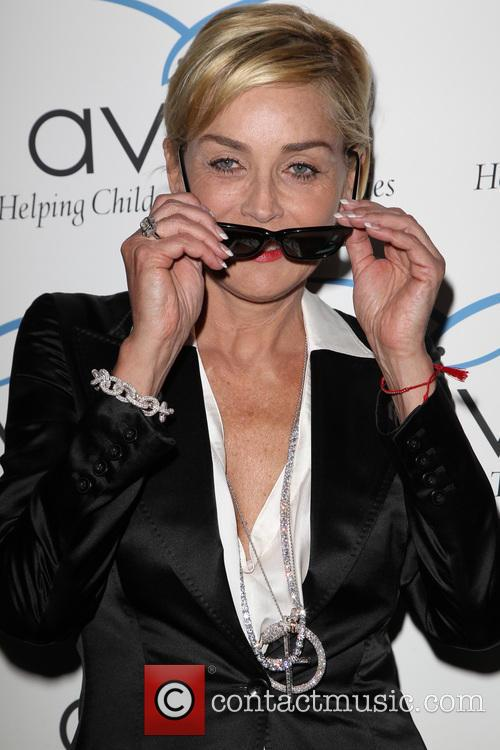 Sharon Stone, Beverly Wilshire Hotel