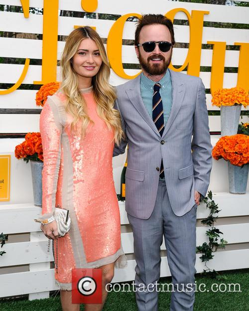 Aaron Paul and Lauren Parsekian 6