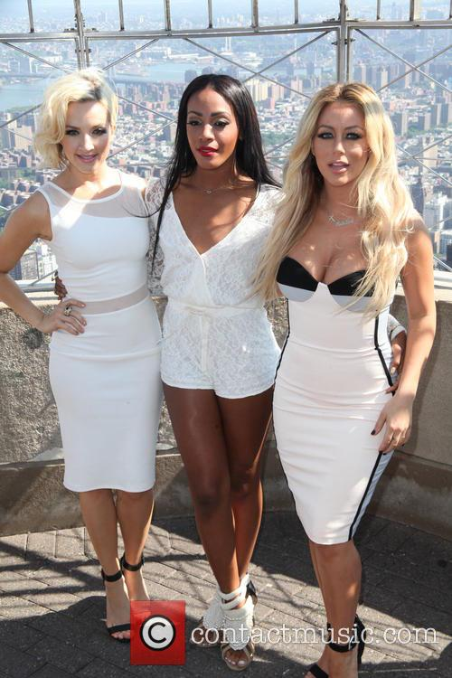 Danity Kane At Empire State Building