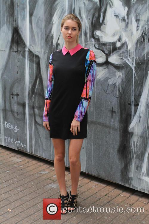 Model Graduate Fashion Week 2014 Street Style 1