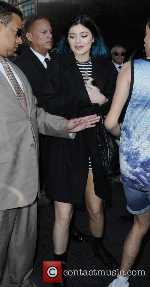 Kylie Jenner leaving her hotel