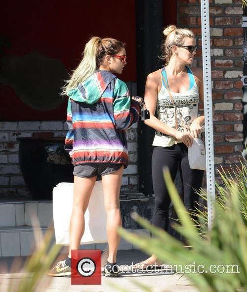 Vanessa Hudgens leaves pilates