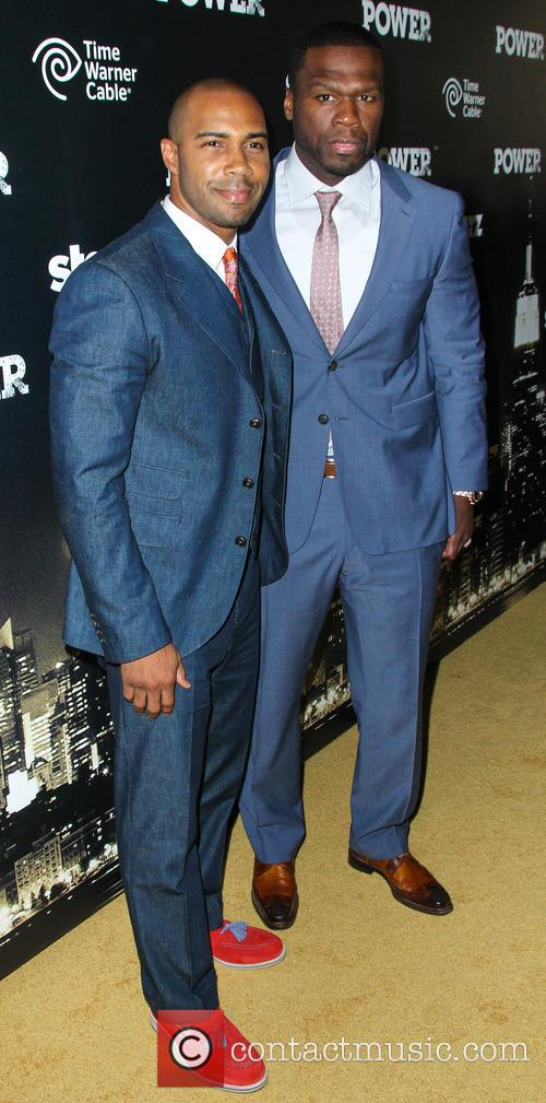 Omari Hardwick and Curtis Jackson 2