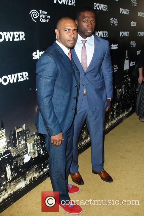 Omari Hardwick and Curtis Jackson