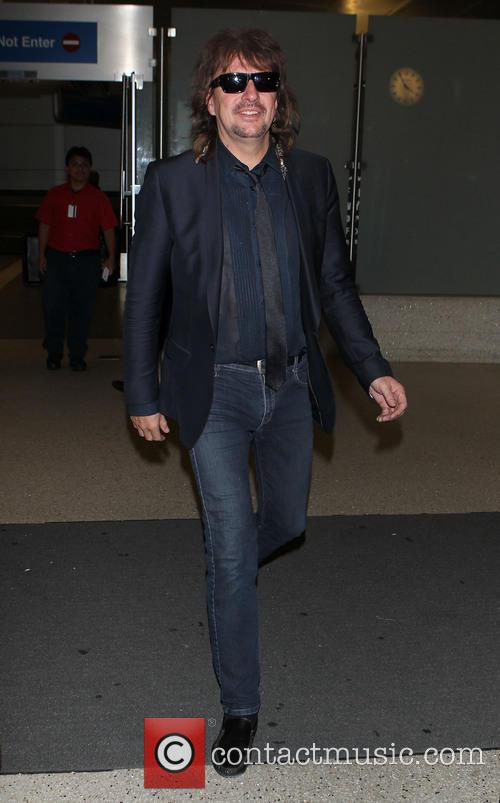 Richie Sambora at LAX