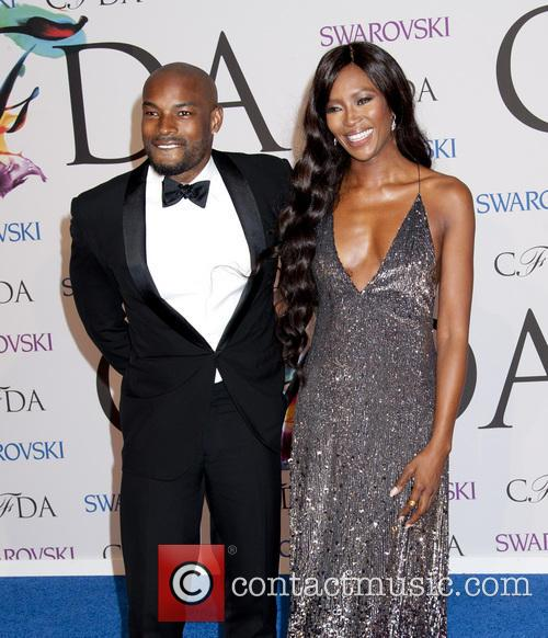 Tyson Beckford and Naomi Campbell 1