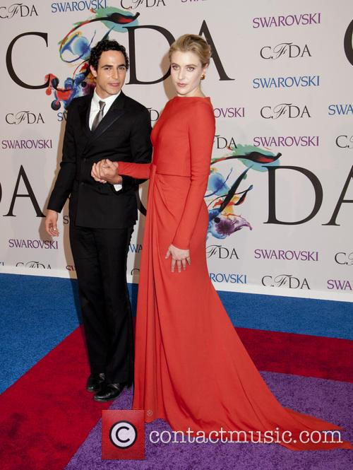 Zac Posen and Greta Gerwig 6
