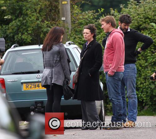 Olivia Colman and Eve Myles 5