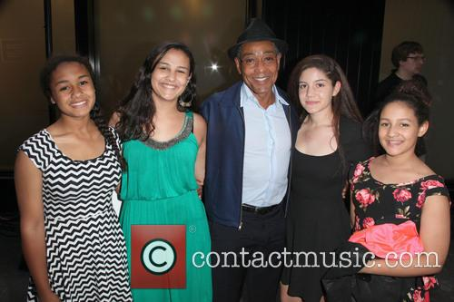 Giancarlo Esposito and His Four Daughters