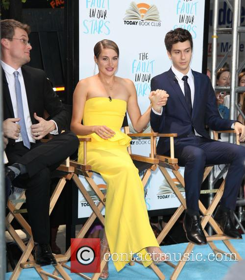 John Green, Writer, Shailene Woodley and Nat Wolff