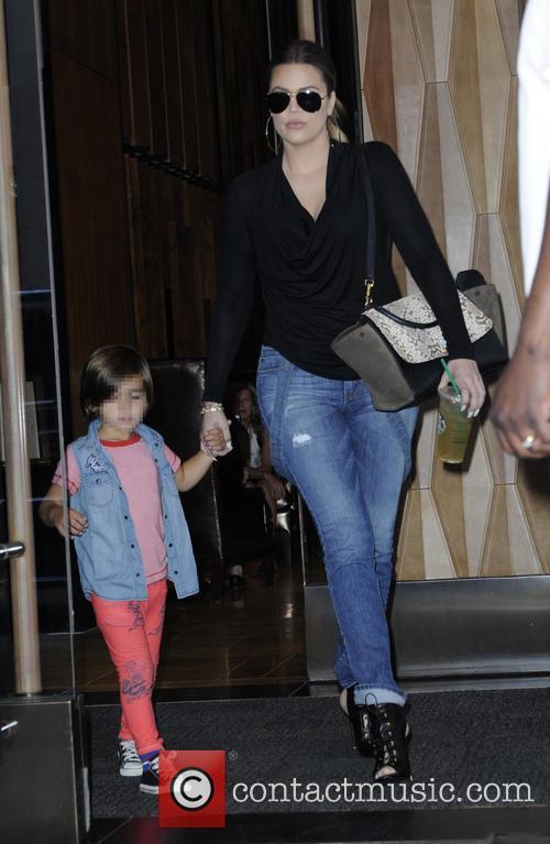 Khloe Kardashian and Mason Disick 1