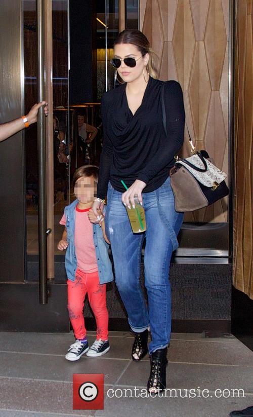 Khloe Kardashian and Mason Dash Disick 2
