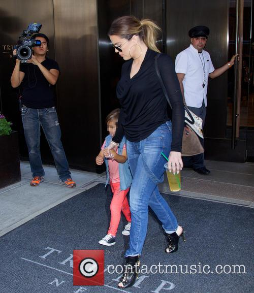 Khloe Kardashian and Mason Dash Disick 1