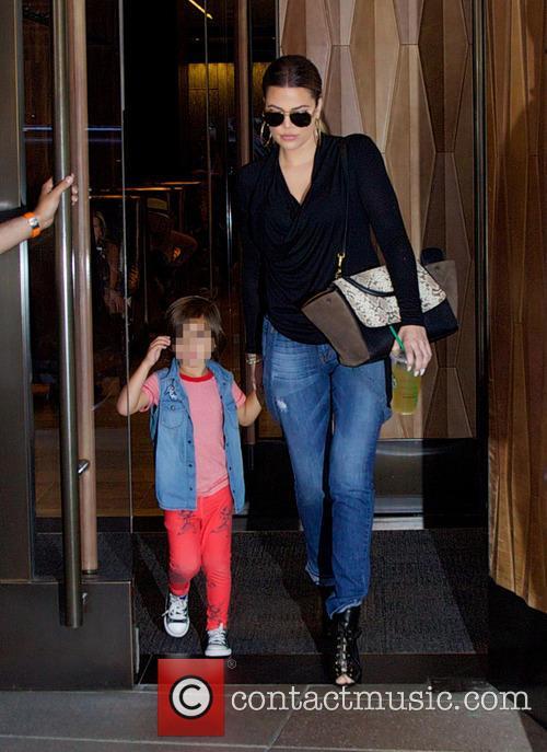 Khloe Kardashian and Mason Dash Disick 6