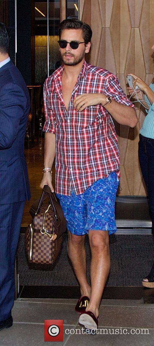 scott disick the kardashian leaving hotel in 4226092
