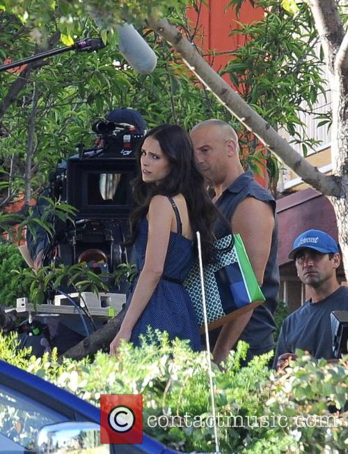 Vin Diesel and Jordana Brewster 8