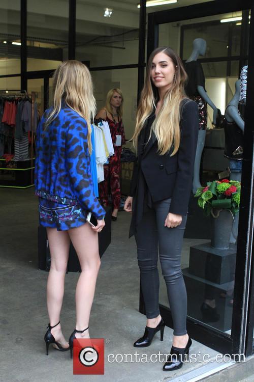 Amber Le Bon and Diana Vickers 4