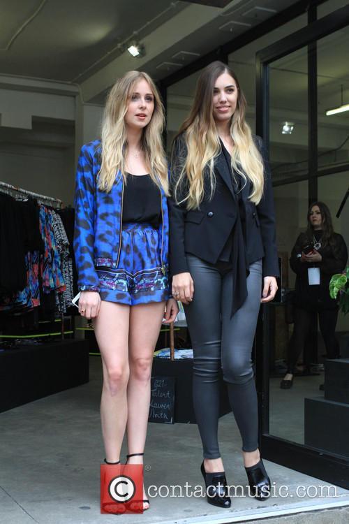 Amber Le Bon and Diana Vickers 5