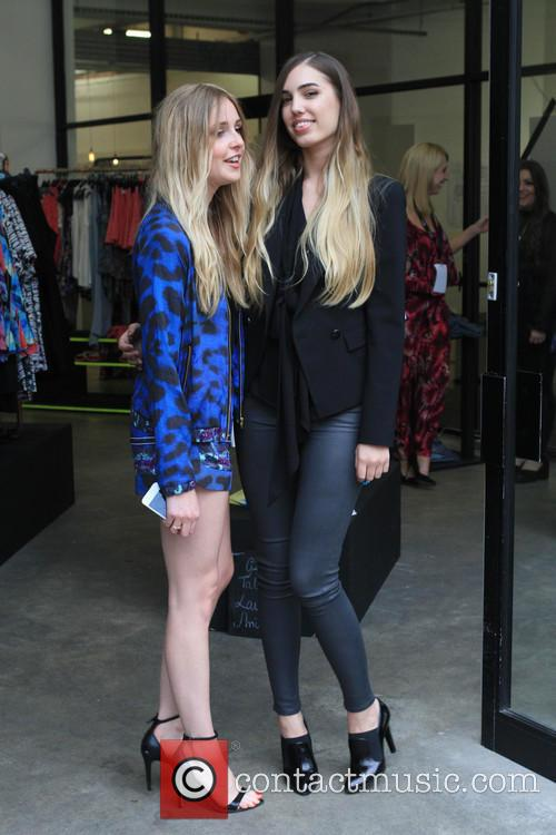 Amber Le Bon and Diana Vickers 10