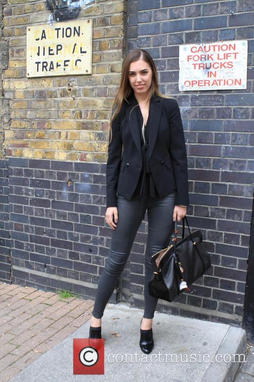 Amber Le Bon Graduate Fashion Week 2014 Street Style 11 Pictures