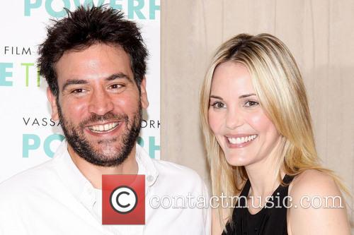 Josh Radnor and Leslie Bibb 2