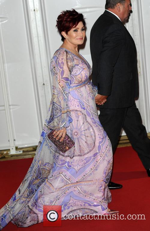 Sharon Osbourne arrives at the Glamour Awards