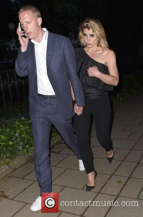 Billie Piper and Laurence Fox Arrive Late For...