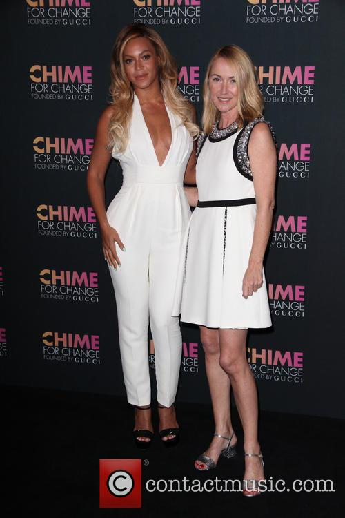 Beyonce and Frida Giannini 2