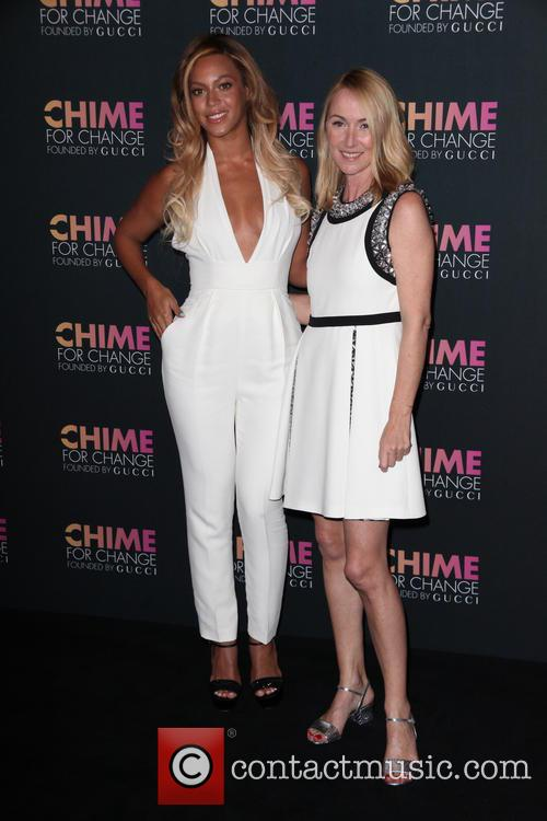 Beyonce and Frida Giannini 4