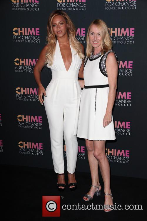 Beyonce and Frida Giannini 1