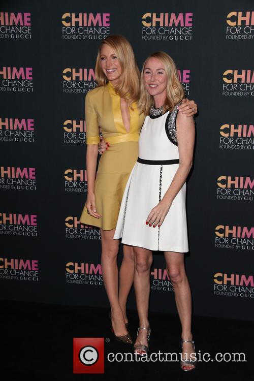 Blake Lively and Frida Giannini 3
