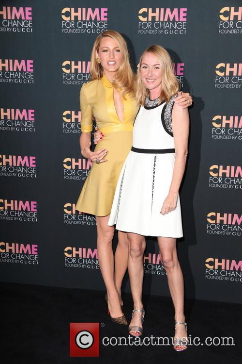Blake Lively and Frida Giannini 5
