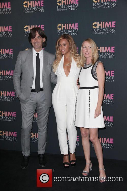Patrizio Di Marco, Beyonce and Frida Giannini 3