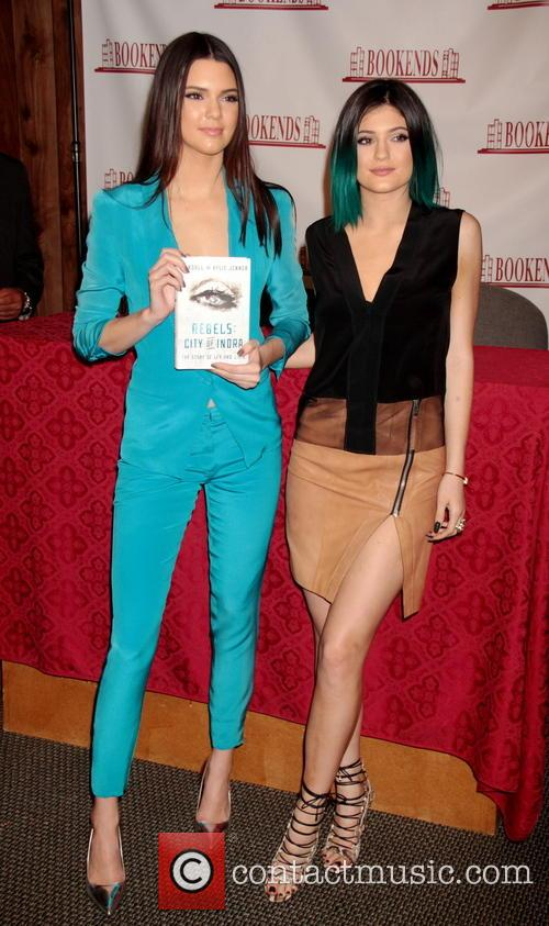 Kendall and Kylie Jenner Book Signing