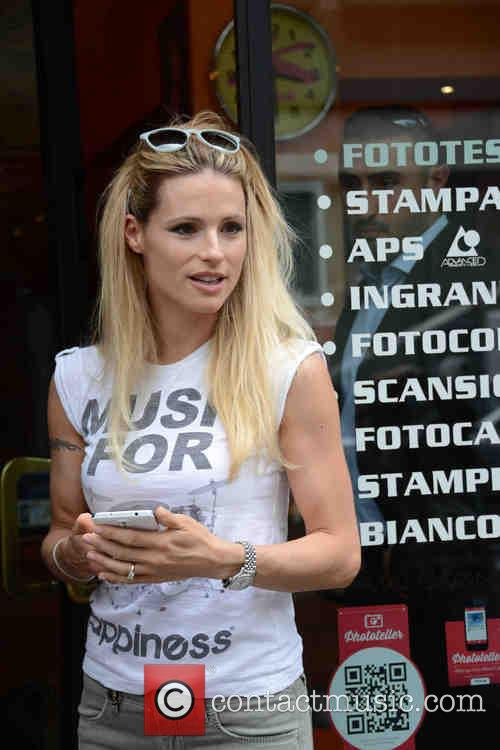 michelle hunziker michelle hunziker at a photo 4228409