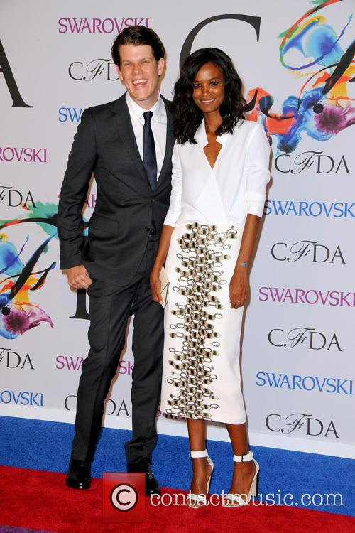 Liya Kebede and Wes Gordon 4