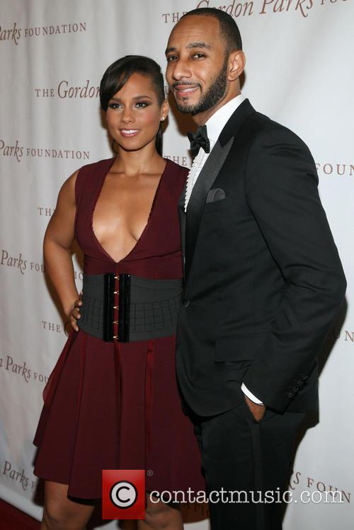 "Alicia Keys and Kasseem ""swizz Beatz"" Dean 6"