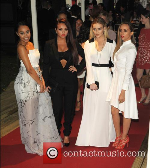 Leigh-Anne Pinnock, Jesy Nelson, Perrie Edwards, Jade Thirlwall, Little Mix, Berkeley Square Gardens