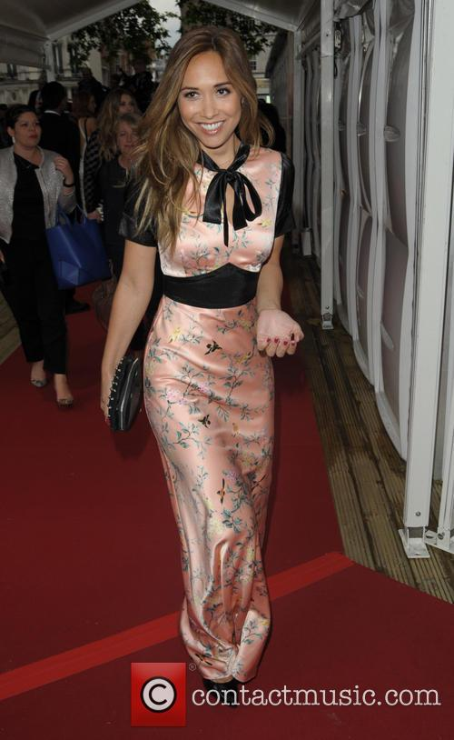 Celebrities arriving at the Glamour Awards