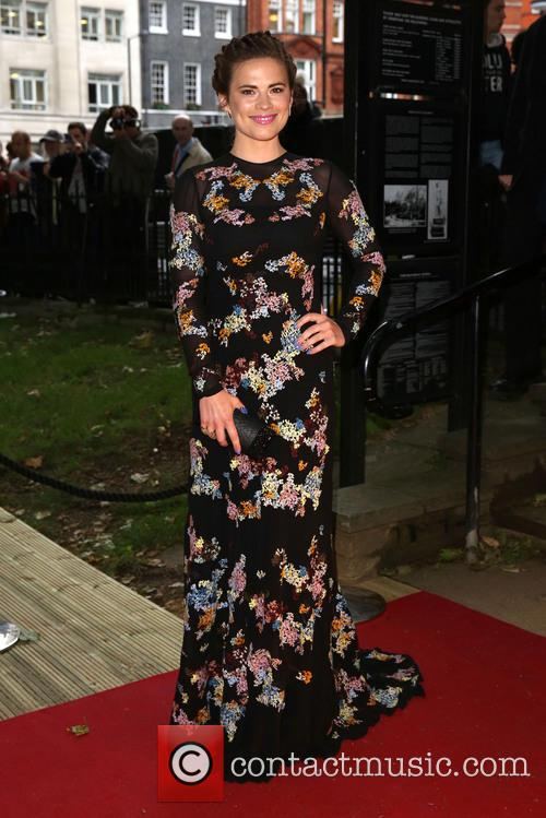 Hayley Atwell, Berkeley Square Gardens